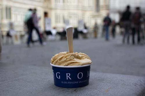 grom italy florence salted caramel ice cream