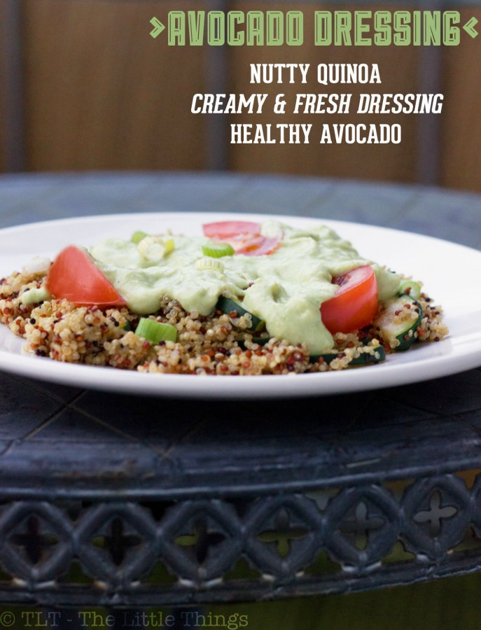 quinoa avocado dressing