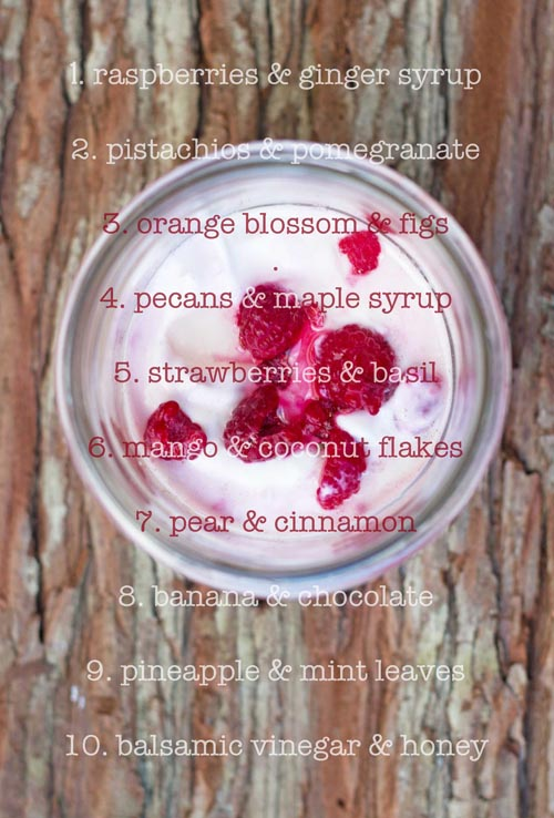 10 yogurt ideas TLT