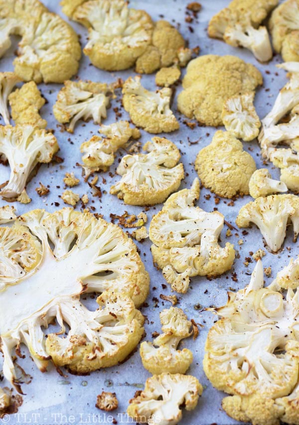 ... way of preparation is the one in this post: oven-roasted cauliflower